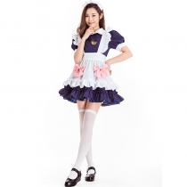 2019 new Halloween costumes cosplay stage costumes cute clerk uniforms love maids