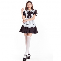 2019 new Halloween costume cosplay stage performance cafe waiter Japanese cute maid costume