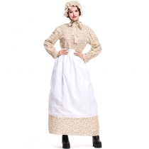 2019 new Halloween adult wolf grandma costumes export goods fairy tale theme clothing garden farm skirt