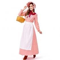 2019 19th Century Women's Wear Halloween American California Farm Costume