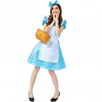 2019 new Alice in Wonderland costumes exported to Europe and America Alice maid COS clothes