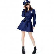 2019 policewoman cosplay costume police police stage costumes professional play uniforms