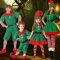 New children's Halloween costumes Christmas elf costumes cosplay adult men and women Christmas costumes costumes