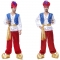 Halloween cosplay costume adult adult Aladdin magic lamp prince costume