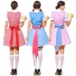 Partition German beer short maid service Halloween cosplay prom performance clothing Export game clothing