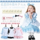 Alice in Wonderland Maid Costume Princess Dress Cosplay Dress Girl Parent-child Costume Halloween Costume