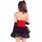 New red swallowtail stage performance clothing Summer sexy tube top DS clothing collar dance dress night dj female singer