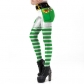 Christmas costume 2019 new holiday women's digital printing leggings European and American Christmas trousers women