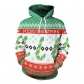 European station 2019 explosion models Christmas day clothing adult loose wild hooded design sweater