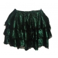 Corset uniform petticoat puff skirt 3-layer lace satin stitching short skirt