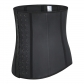 waist trainer rubber buckle waist belt sculpting waist latex corset Latex corset