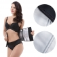 New hot shaper silver violent sweat type body shaping waist belt sports shaping fitness rubber corset
